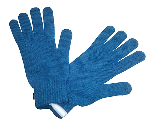 Gloves made of 100% pure cashmere.